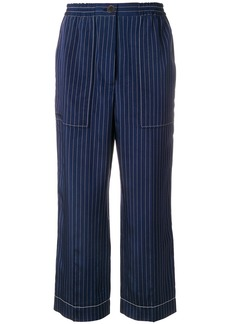 Sonia Rykiel Rive Gauche striped trousers - Blue