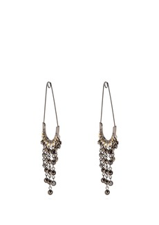 Sonia Rykiel Safety-pin drop earrings