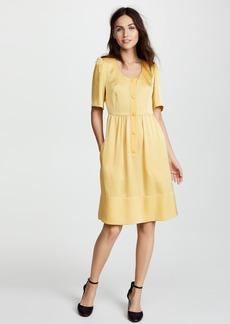 Sonia Rykiel Satin Backed Crepe Dress