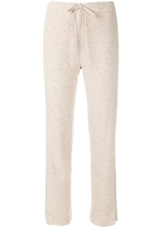 Sonia Rykiel side stripe track pants - Nude & Neutrals