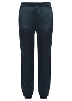 Sonia Rykiel Slim-leg satin trousers