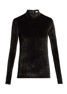 Sonia Rykiel St Germain velvet top