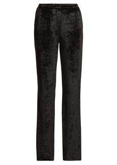 Sonia Rykiel Velvet wide-leg trousers