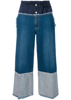 Sonia Rykiel wide-leg denim trousers - Blue