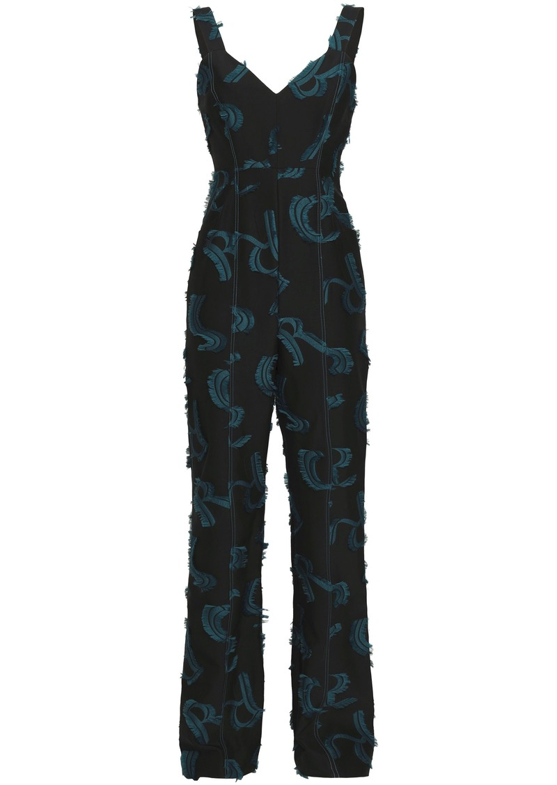 Sonia Rykiel Woman Fil Coupé Jumpsuit Black