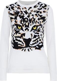 Sonia Rykiel Woman Intarsia Wool Sweater White