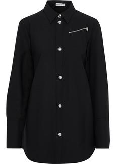 Sonia Rykiel Woman Stretch-twill Shirt Black