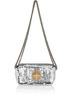 Sonia Rykiel Women's Le Copain Chain Shoulder Bag - Silver