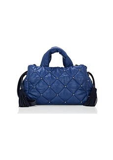 Sonia Rykiel Women's Studded Small Tote Bag - Blue