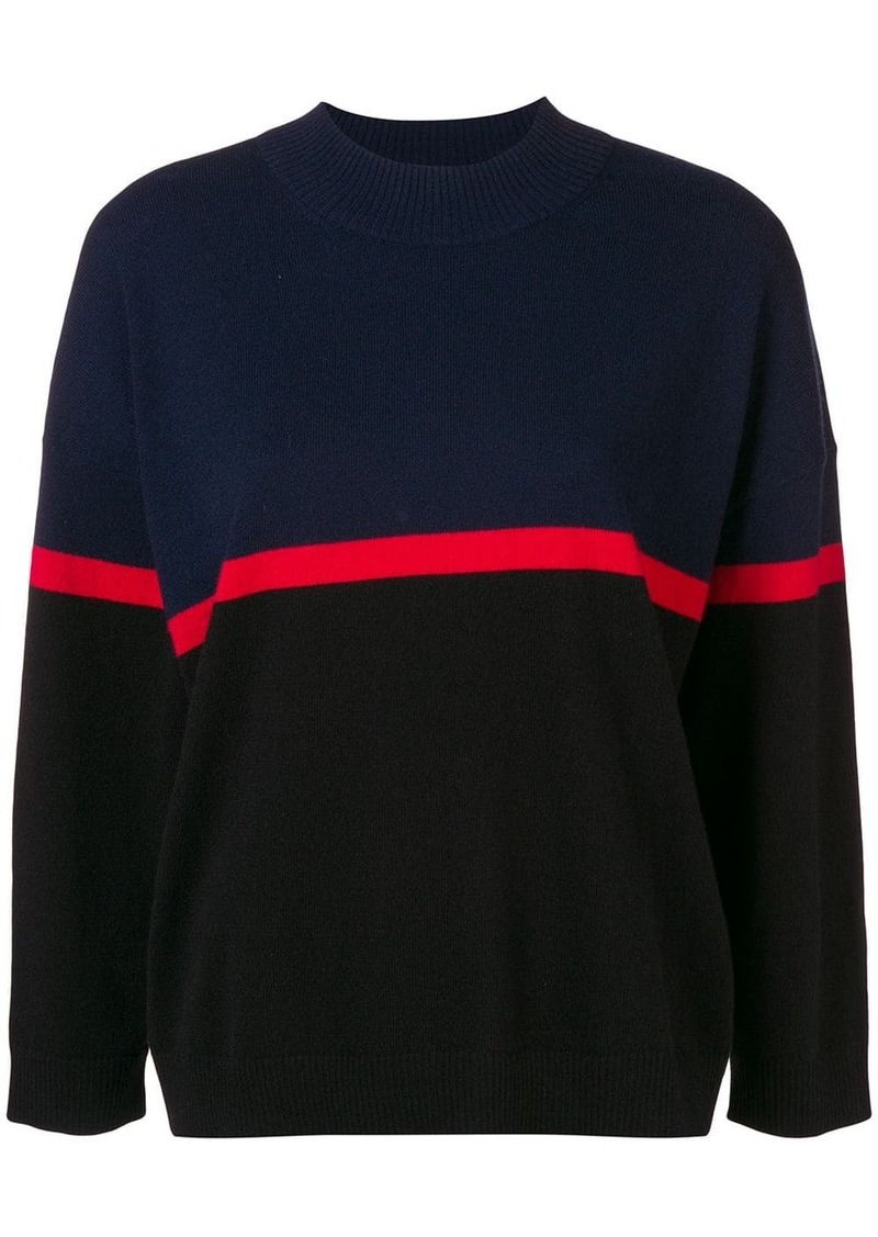 Sonia Rykiel stripe detail jumper