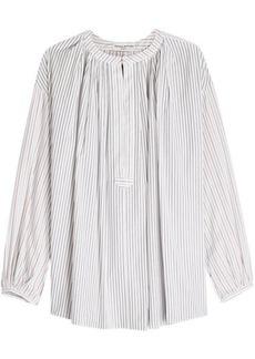 Sonia Rykiel Striped Cotton Blouse