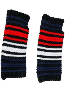 Sonia Rykiel striped fingerless gloves