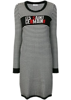 Sonia Rykiel striped fitted sweater dress