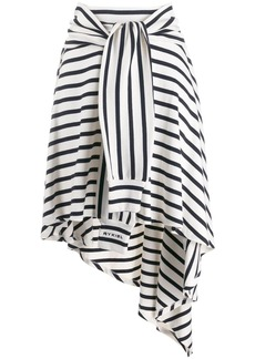 Sonia Rykiel striped jersey skirt