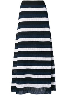 Sonia Rykiel striped knit skirt