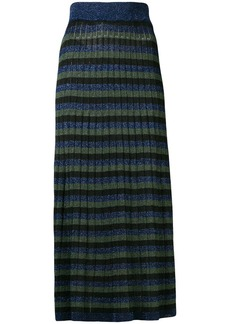 Sonia Rykiel striped long skirt