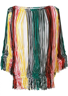 Sonia Rykiel striped off-the-shoulder blouse