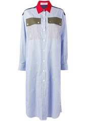 Sonia Rykiel striped shirt dress