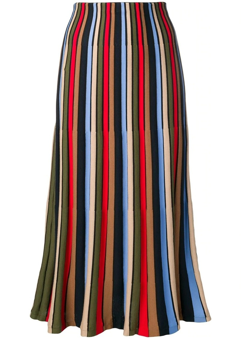 Sonia Rykiel striped tulip skirt