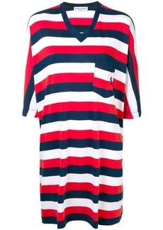Sonia Rykiel striped V-neck dress