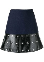 Sonia Rykiel studded mini skirt