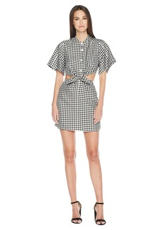 Sonia Rykiel Vichy Tie Front Dress