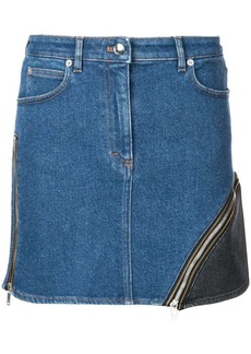 Sonia Rykiel zip panel denim skirt