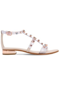 Sophia Webster 20mm Dina Embellished Plexi Sandals