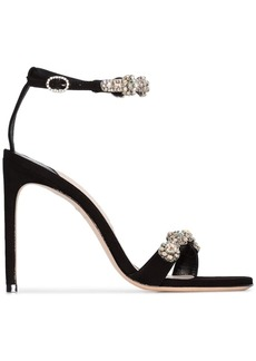 Sophia Webster Aaliyah crystal-embellished sandals
