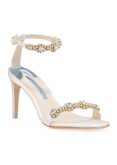 Sophia Webster Aaliyah Mid Crystal Sandals