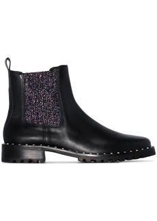 Sophia Webster Bessie glittered Chelsea boots