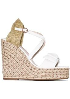 Sophia Webster Bonnie 140 espadrille wedge sandals