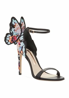 Sophia Webster Chiara Embroidered Butterfly Sandals