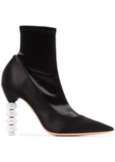 Sophia Webster Coco Crystal 100 Ankle Boots