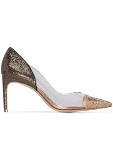 Sophia Webster Daria 85mm glittered pumps