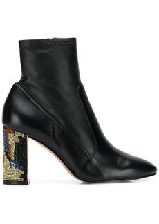 Sophia Webster embellished-heel ankle boots