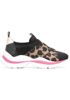 Sophia Webster leopard panel sneakers