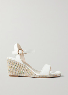 Sophia Webster Lucita Leather Espadrille Wedge Sandals