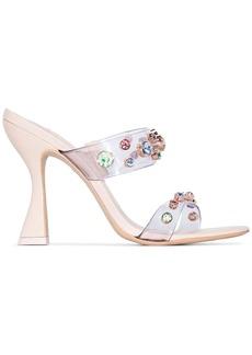 Sophia Webster Diva 100mm crystal studded sandals