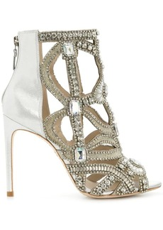 Sophia Webster rhinestone embellished open toe sandals