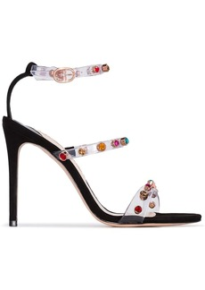 Sophia Webster Rosalind 100 gem PVC sandals