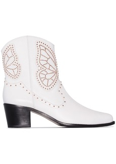 Sophia Webster Shelby 50mm studded ankle boots