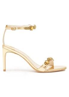 Sophia Webster Aaliyah crystal-embellished leather sandals