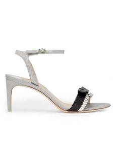 Sophia Webster Andie bow-trim glitter sandals