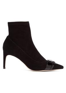 Sophia Webster Andie bow-trim suede boots