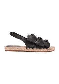 Sophia Webster Bonnie bow leather slingback espadrille sandals