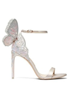 Sophia Webster Chiara butterfly-wing leather stiletto sandals
