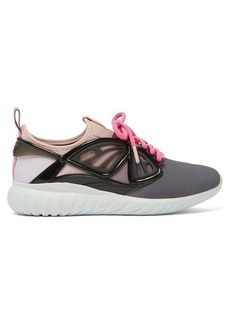 Sophia Webster Fly-by lace-up scuba trainers