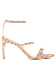 Sophia Webster Rosalind metallic leopard-print sandals