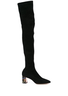 Sophia Webster thigh-high heel boots